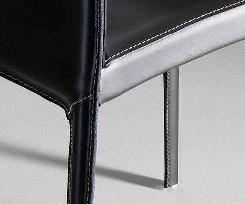 Detal na krzesło Kefir Bontempi z oferty Kler.