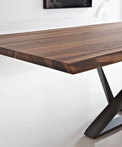 Drewniany blat stołu Millenium Bontempi z oferty Kler.